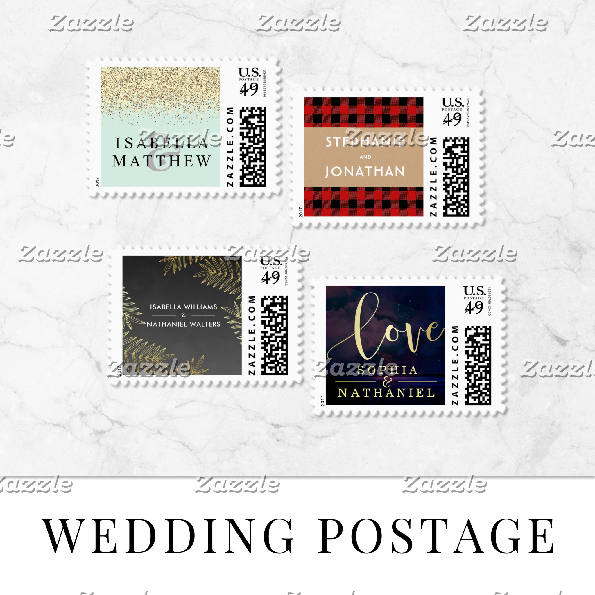 Wedding Postage