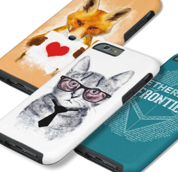 iPhone cases, skins