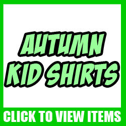 Autumn Cartoon Kid, Toddler and Baby shirts