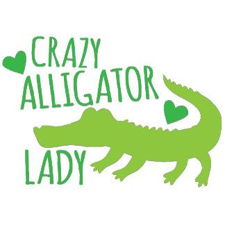 crazy alligator lady