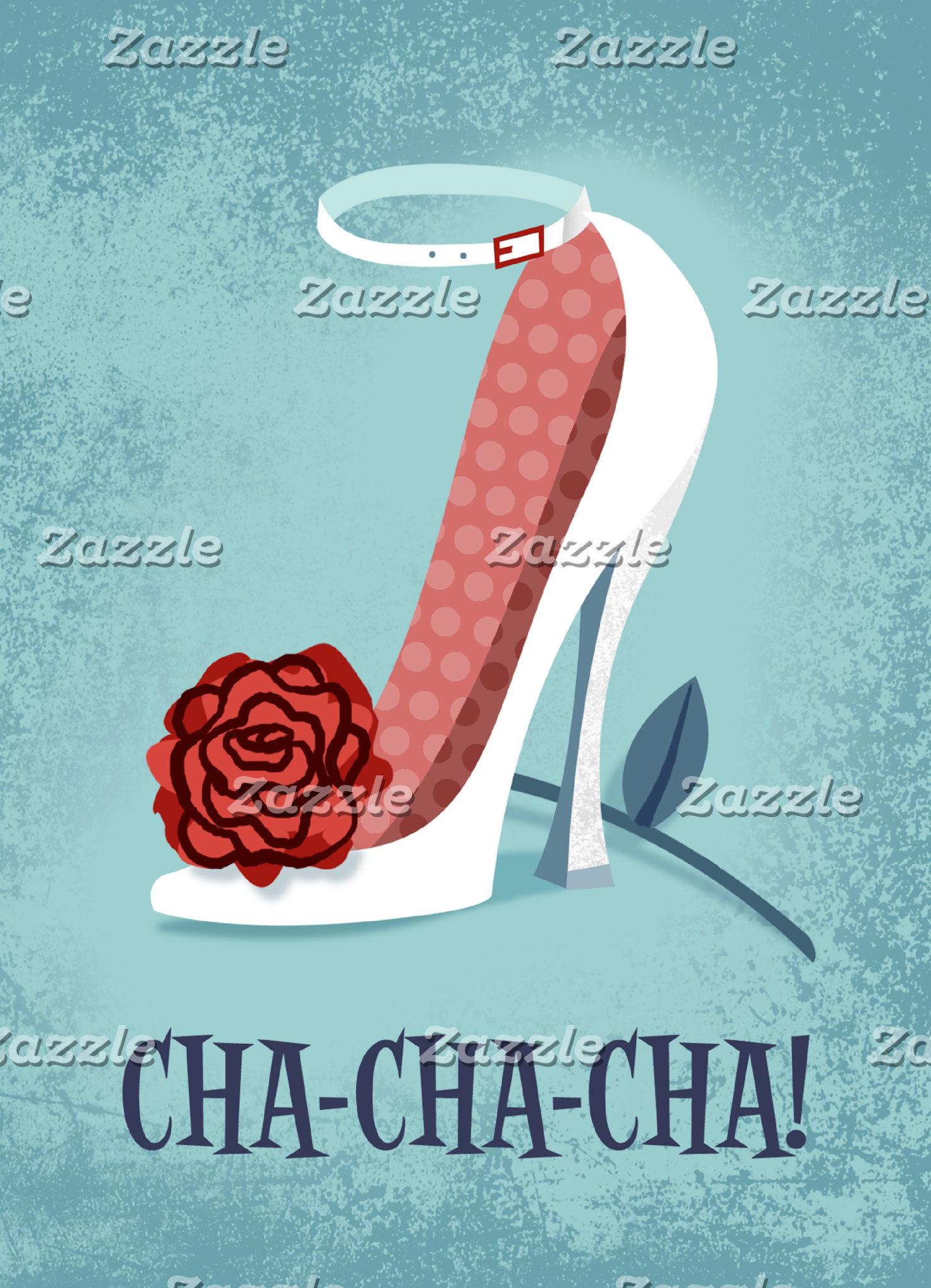 """Cha-cha-cha Poster Print"""