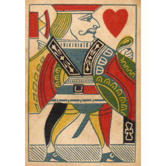 """Jack of Hearts Card Poster Print"""