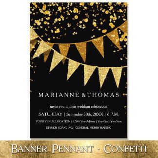 Banner Pennant Confetti