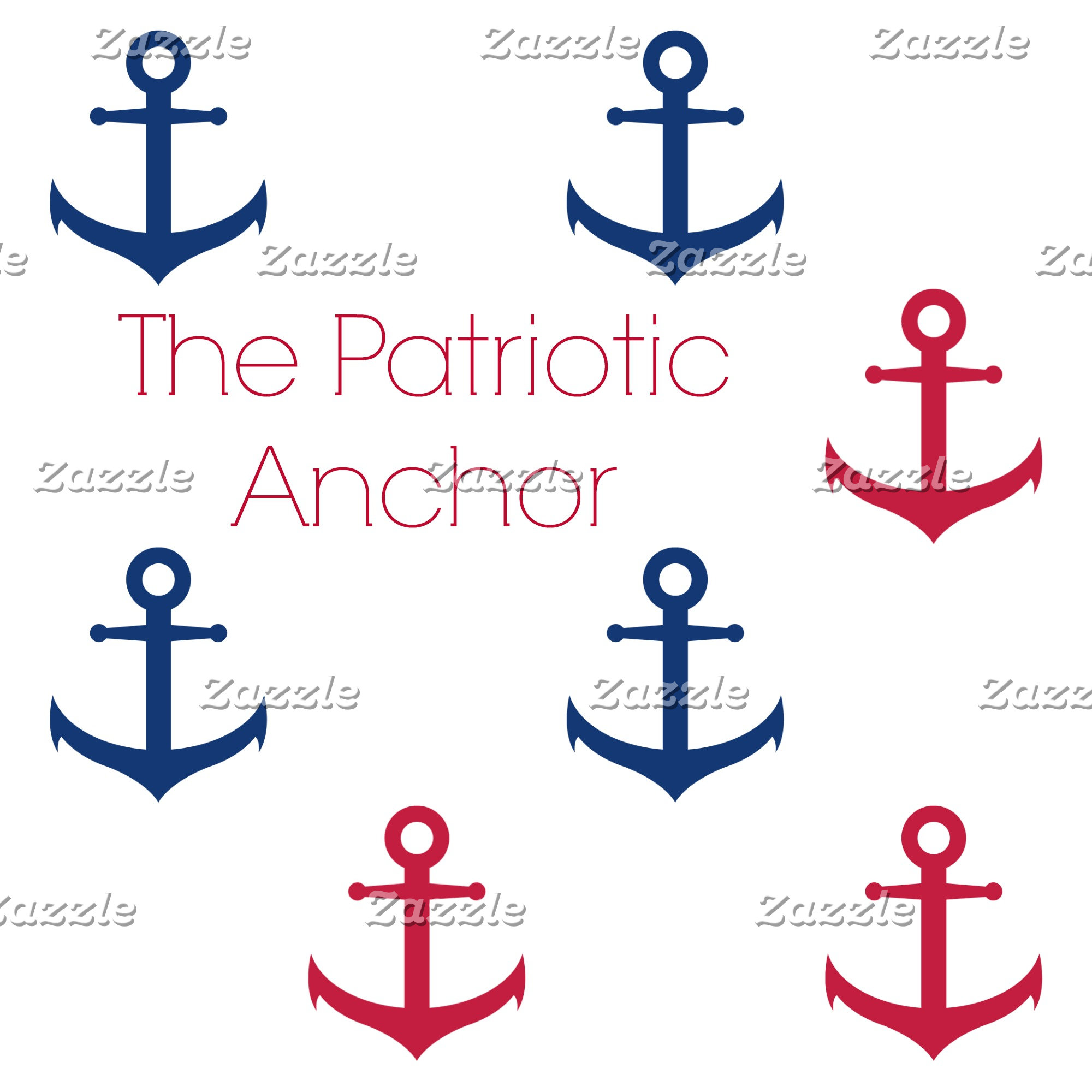 Patriotic Anchor