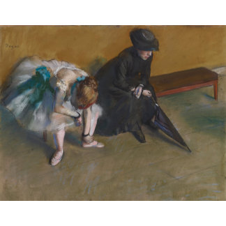 Edgar Degas | Waiting