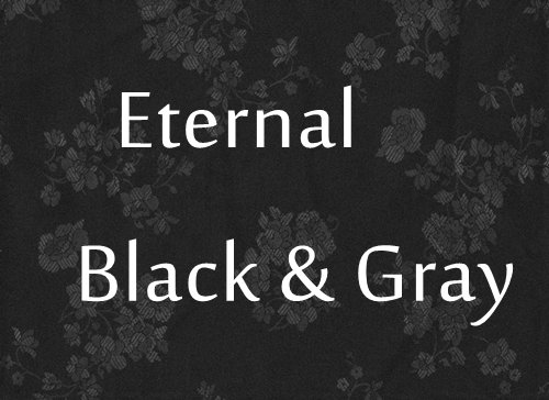 Eternal Handfasting/Wedding  Black/Gray