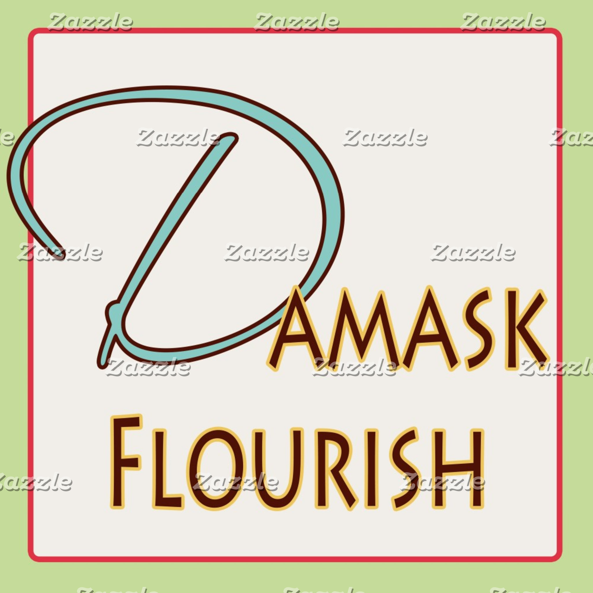 Damask Flourish