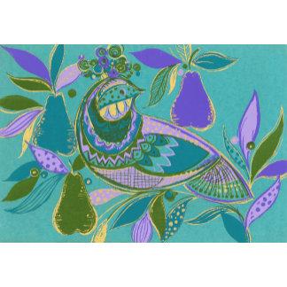 """Partridge in Pear Tree Poster Print"""