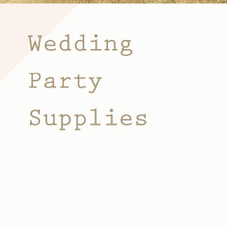Wedding Table Top