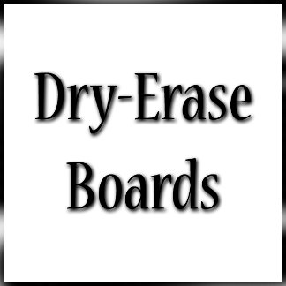 Dry Erase Boards