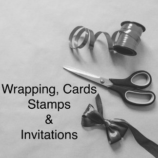 wrapping, cards, invites