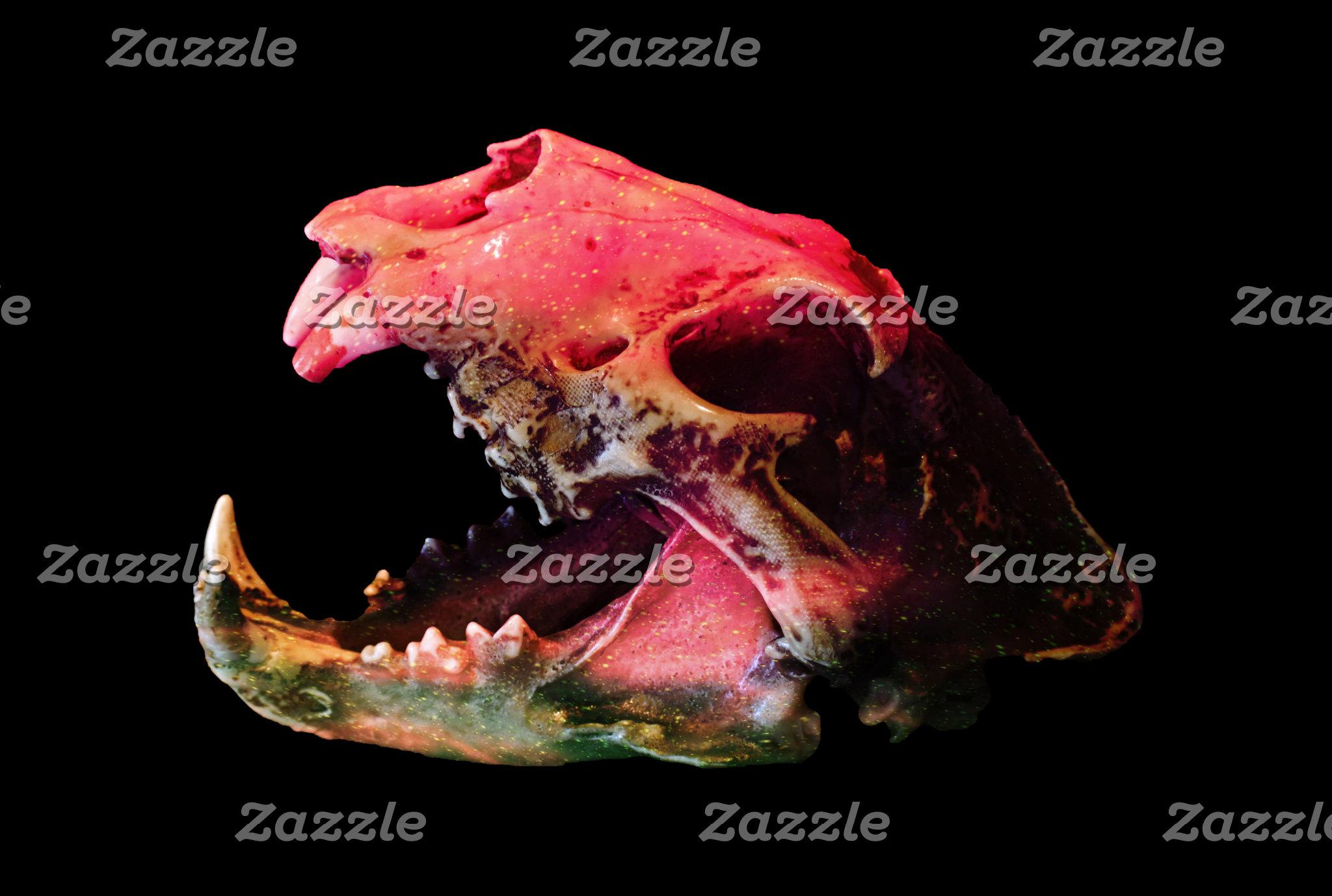 Galaxy Lion Skull