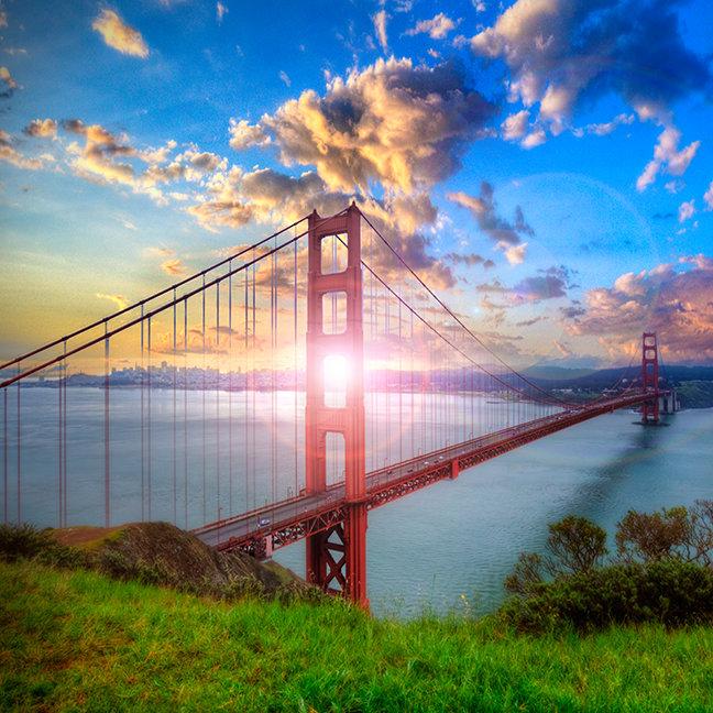 Golden Gate Sunrise