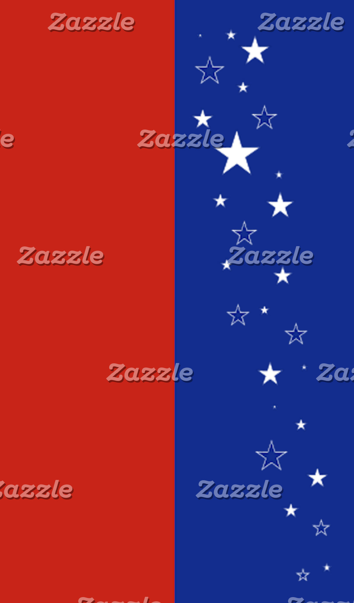 Patriotic and stars