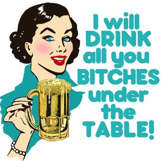 Retro Drinking Humor