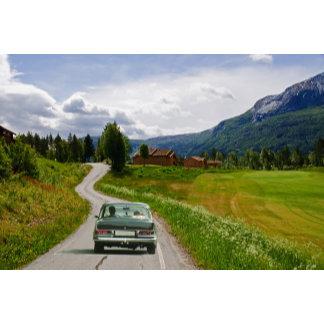 Roadtrip in a Veteran car