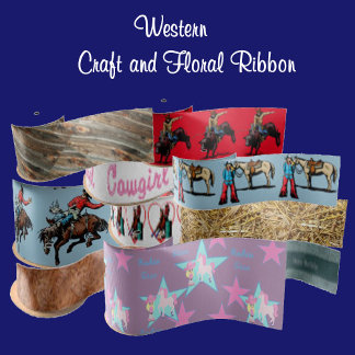 Western Ribbon -Craft - Gift