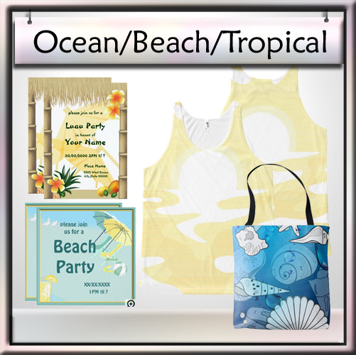 Ocean, Beach, Tropical