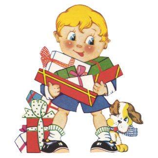 Boy with Presents