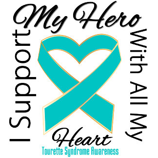 I Support My Hero Tourette Syndrome