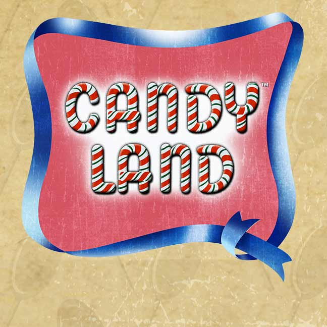 Vintage Candy Land Logo