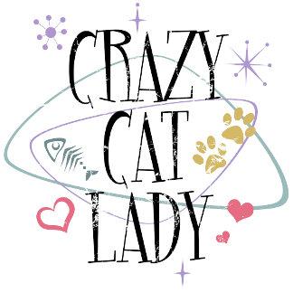 Crazy Cat Lady Vintage