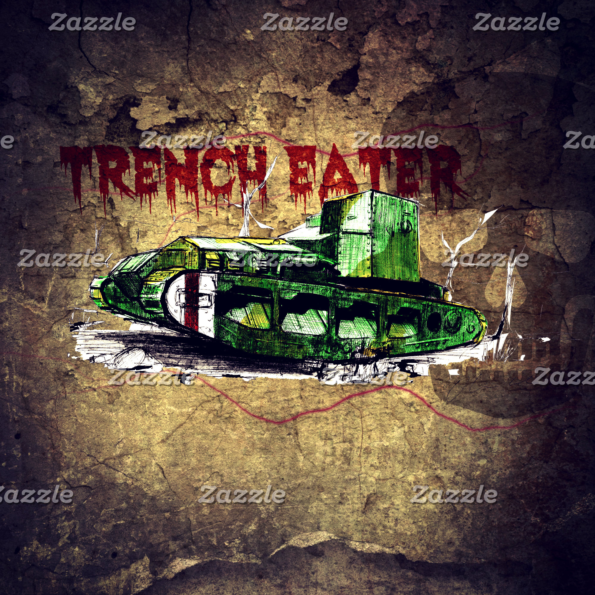 Trench Eater WW1 Tank
