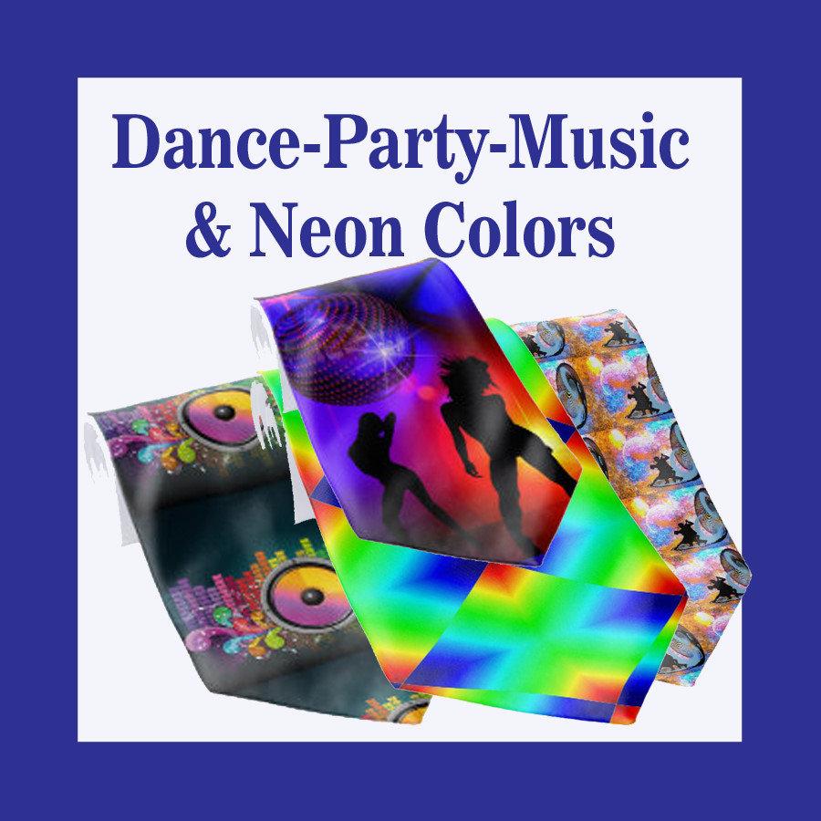 Dance | Party | Music | Neon Colors