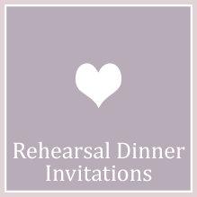 3. Rehearsal Dinner
