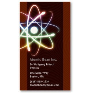 ► Scientists Business Cards