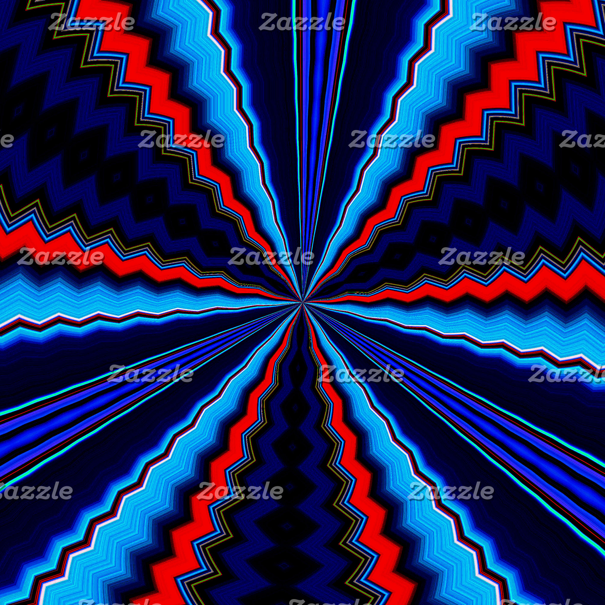 Radiating Colors
