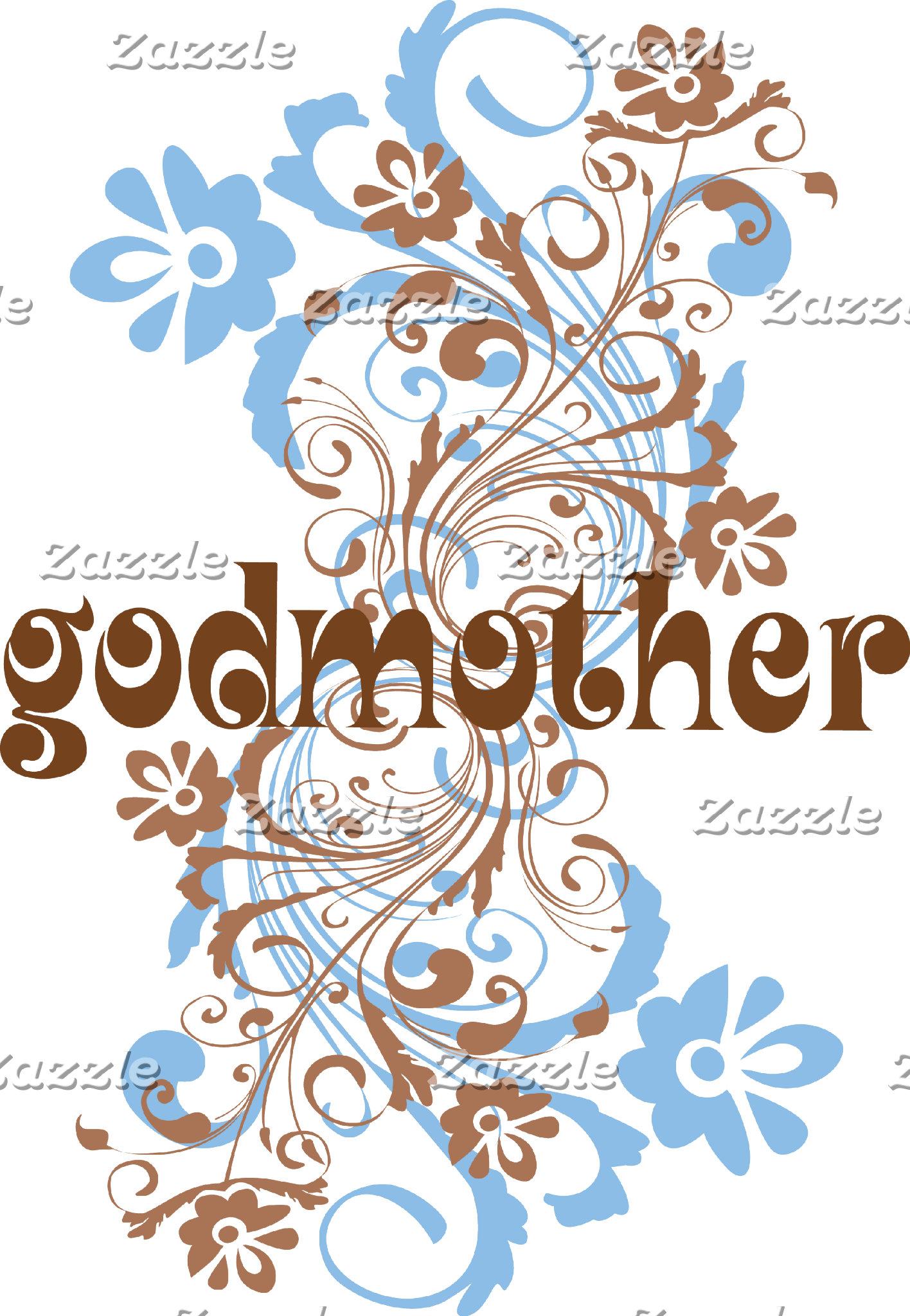 Godmother Blue Swirl
