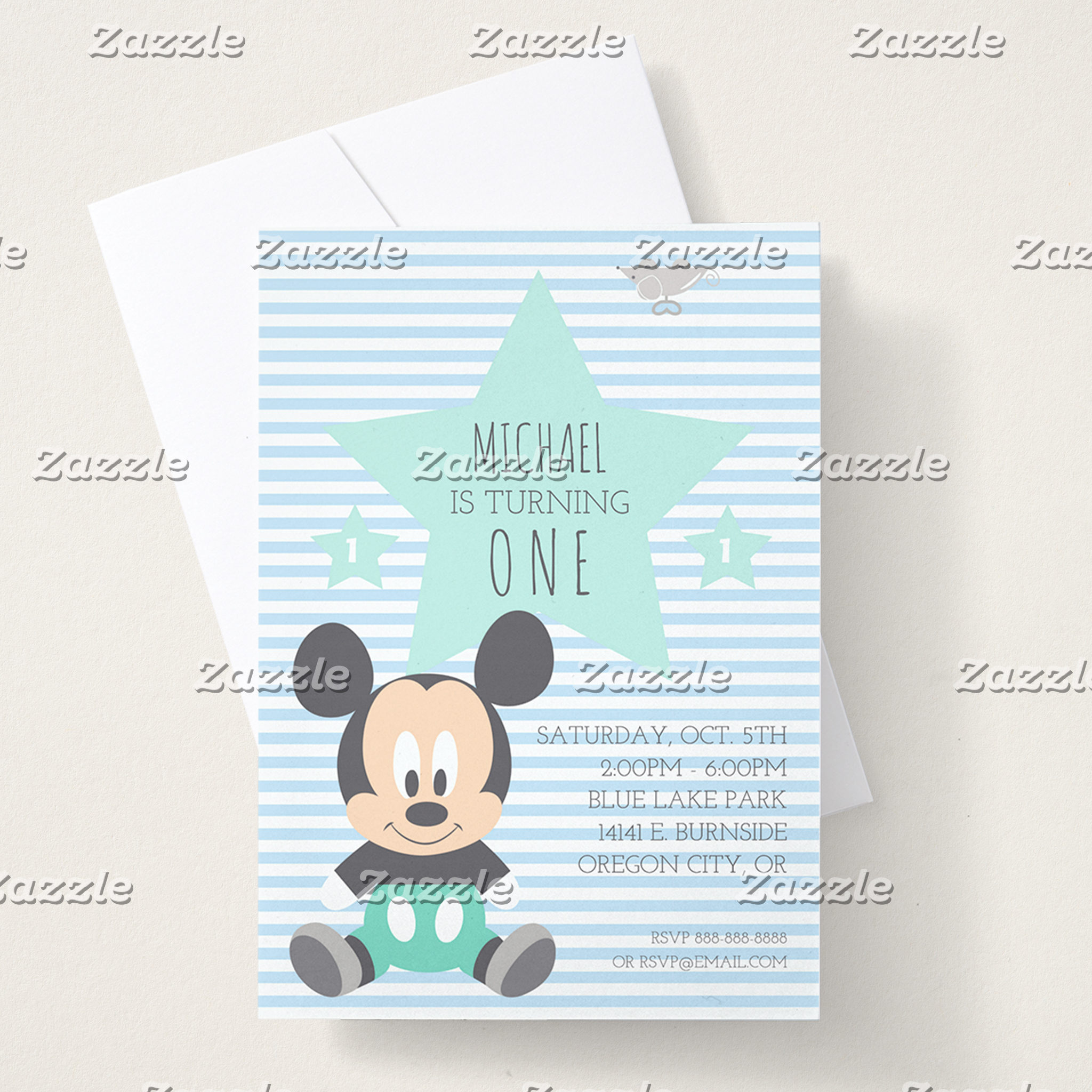 Mickey & Friends 1st Birthday