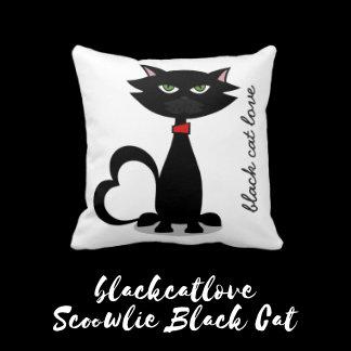 Scowlie Black Cat