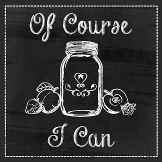 Of Course I Can - Chalkboard