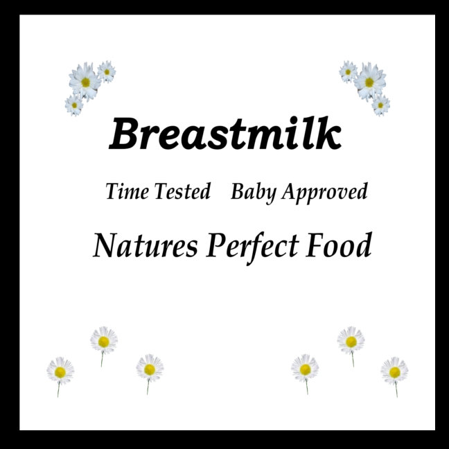Breastmilk time tested baby approved
