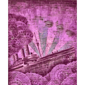 URBAN Fashion Bags in Pink Street Art
