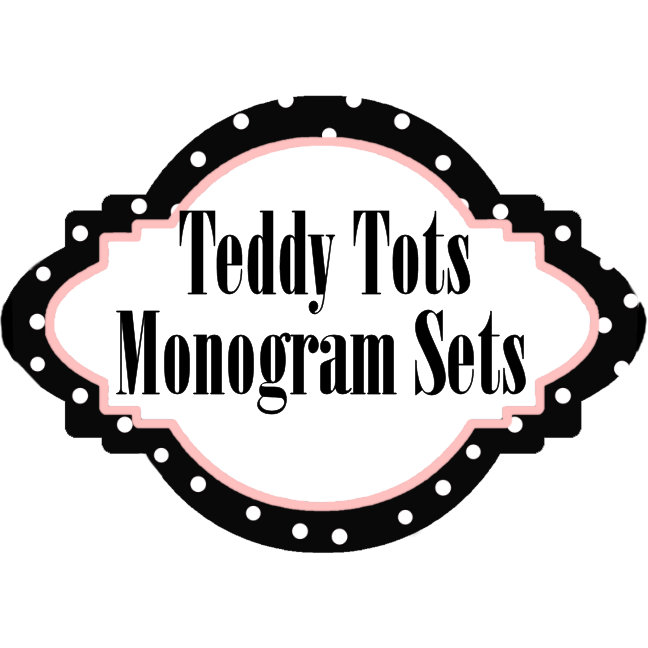 TEDDY TOTS Alphabet Monogram Collection