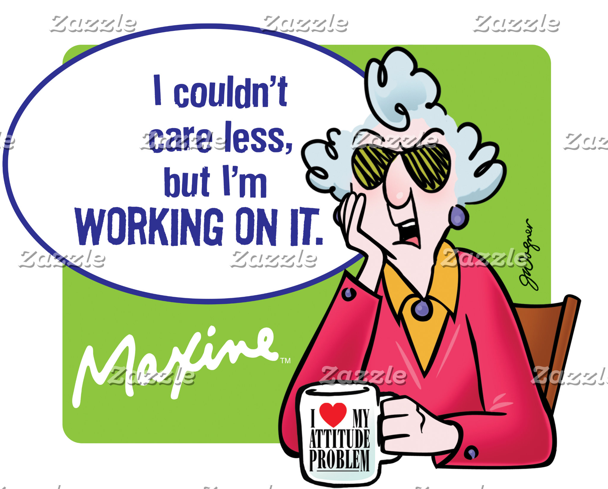 Maxine   I Couldn't Care Less