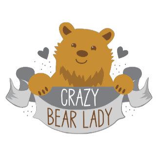 crazy bear lady banner