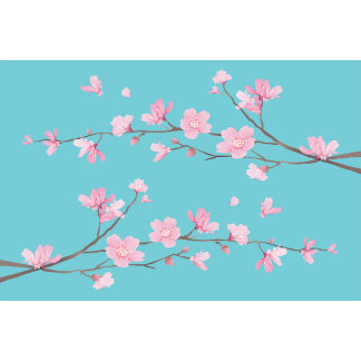 Cherry Blossom - Robin Egg Blue