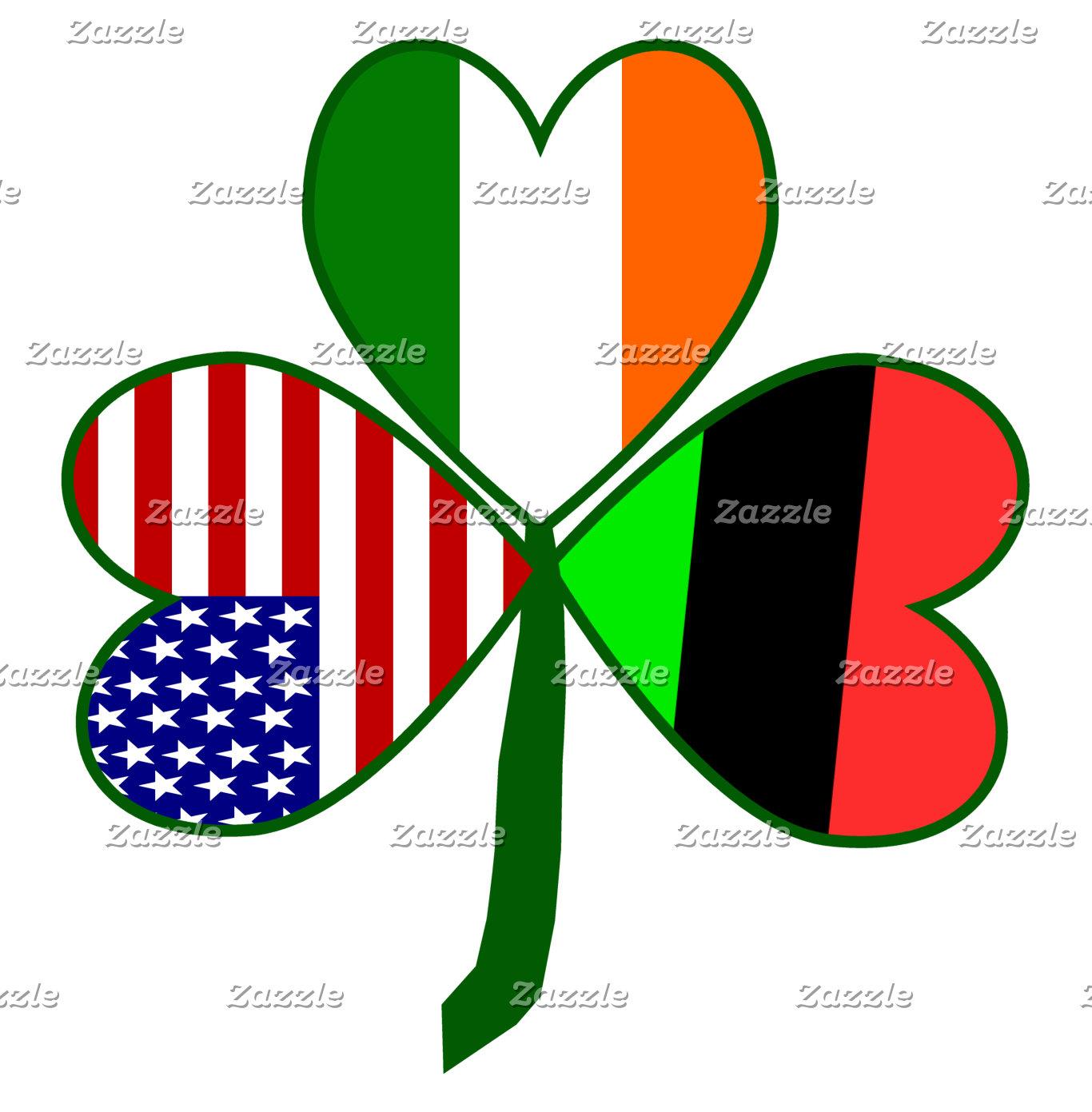 African American Shamrock Flag