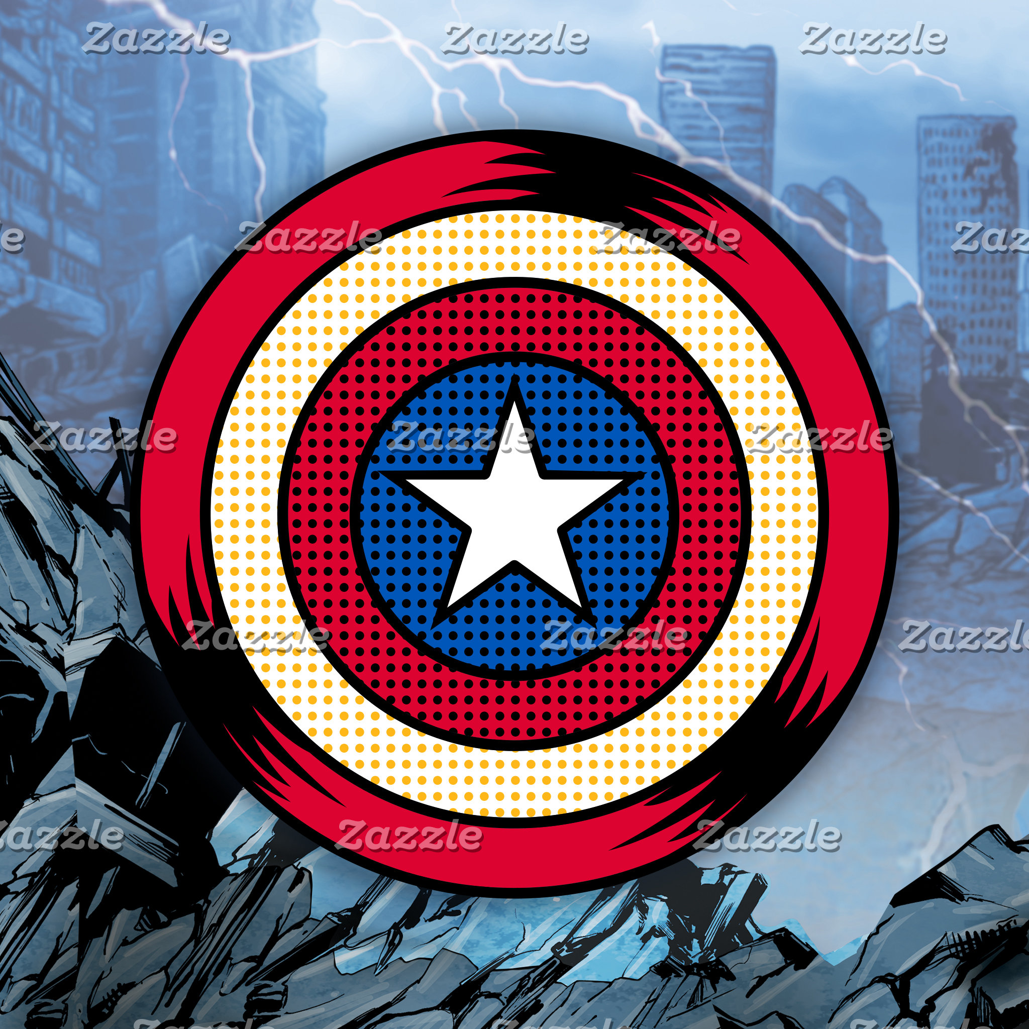 Cap 75th Anniversary Shield