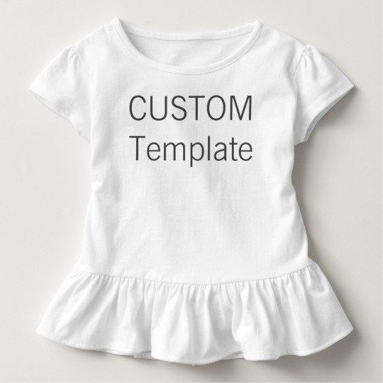 Toddler Ruffle T-Shirts