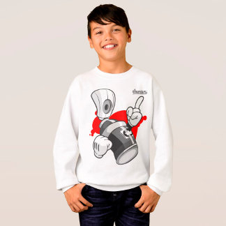 Kids Graffiti Streetwear Sweatshirts