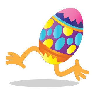 easter egg running