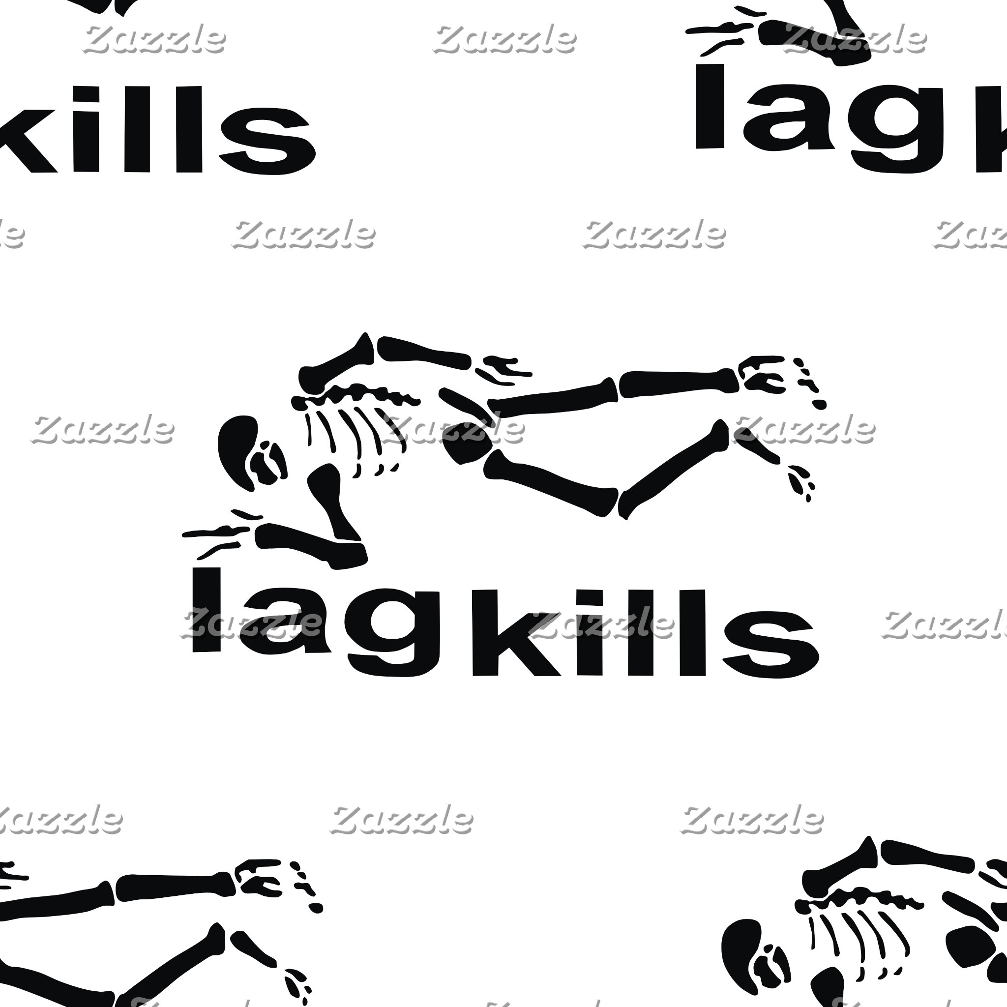 Lag Kills Skeleton Pattern