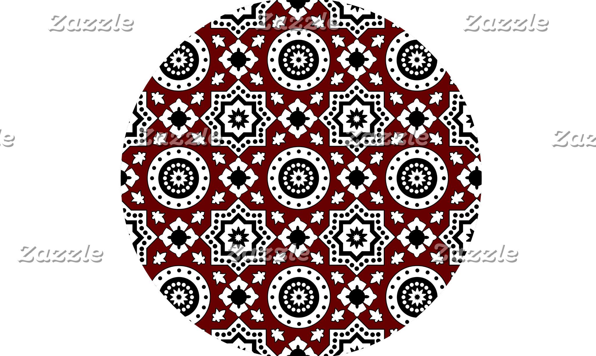 Ajrak Pattern