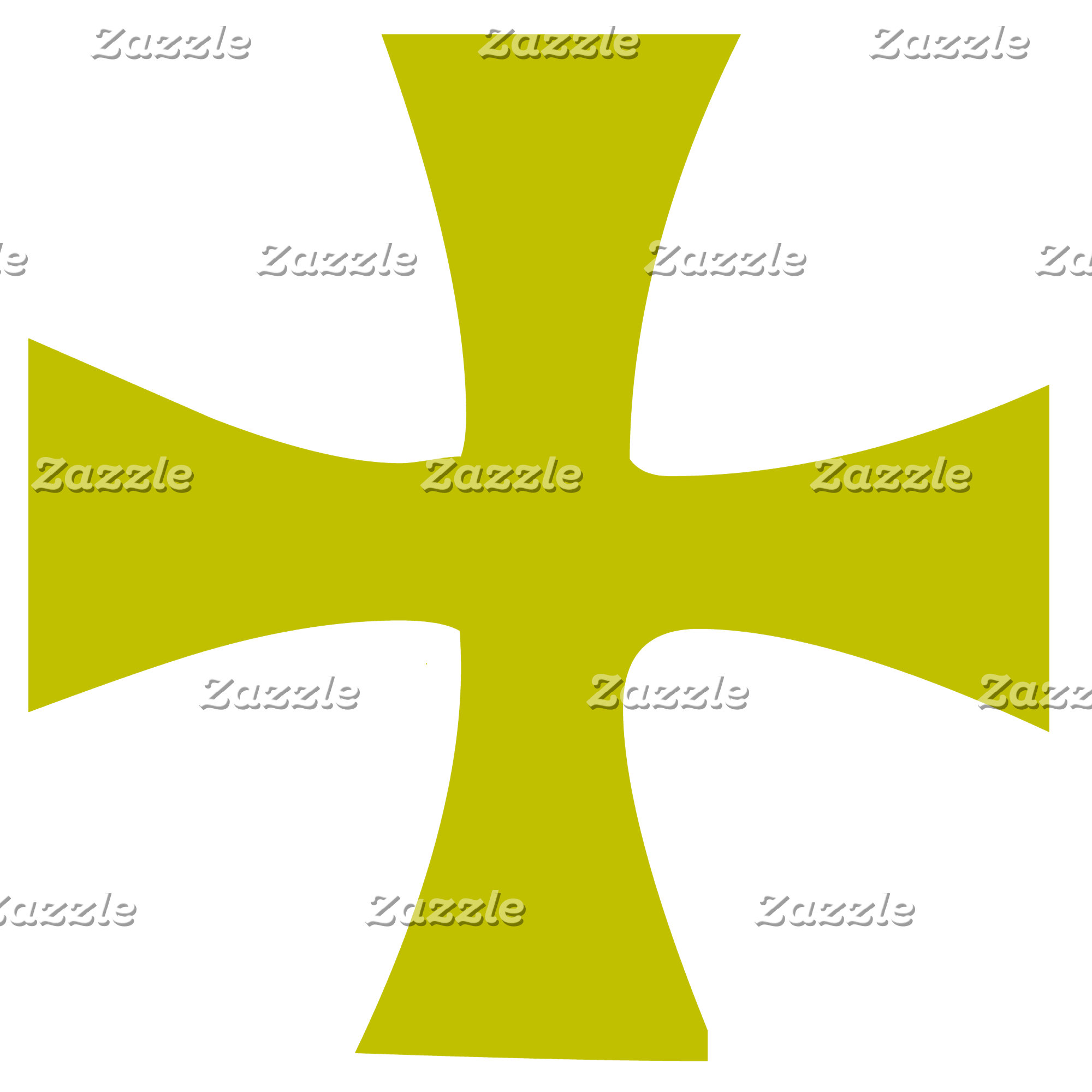 Gold Byzantine Cross