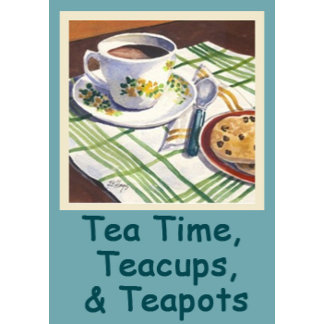Tea Time Teacups & Teapots